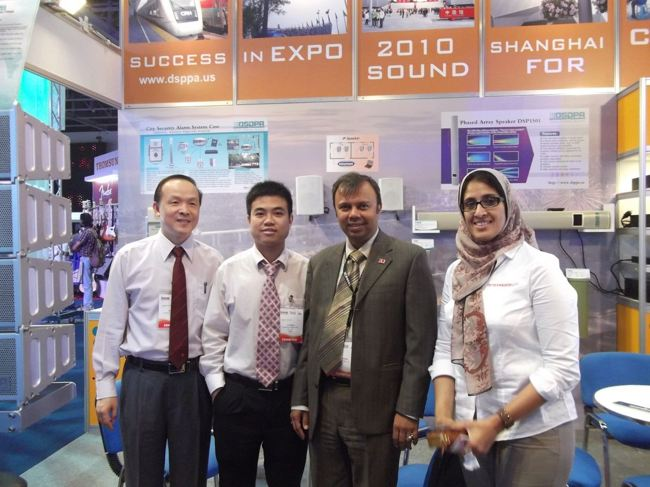 dsppa at Dubai Exhibition of Professional Sound, Light, Music, Audio Visual & Systems Integration Technologies